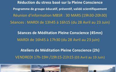 Méditation Pleine Conscience à Alliance Thérapeutique Océane