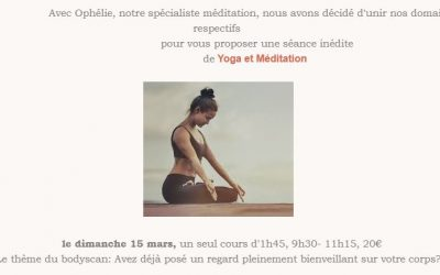 Atelier Yoga et Méditation – 15 Mars Casa Yoga